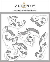 Altenew maski- ja sapluunasetti Baroque Motifs