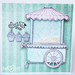 Heartfelt Creations Sweet Shoppe -stanssisetti