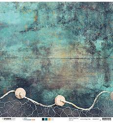 Studio Light skräppipaperi Ocean View nr. 01