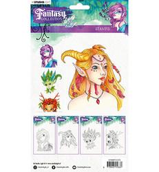 Studio Light leimasin Fantasy Collection, nr.373
