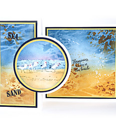 Marianne Design leimasin Tinys' Border, Sand Pipers