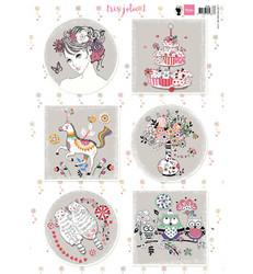 Marianne Design korttikuvat Tres Jolie