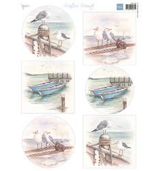 Marianne Design korttikuvat Mattie's Boats