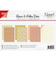 Joy! crafts NoorDesign paperipakkaus Roses & Polka Dots