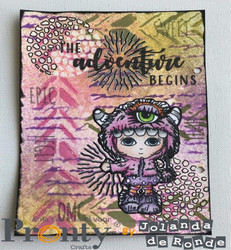Pronty sapluuna Grunge Stripes by Jolanda