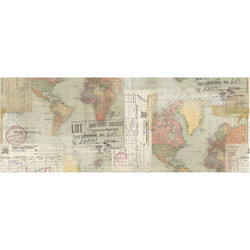 Tim Holtz Idea-Ology Collage paperipakkaus Travel