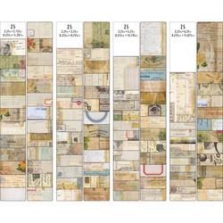 Tim Holtz Idea-Ology Journal Cards, 100 kpl