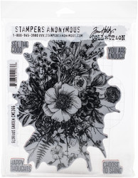 Stampers Anonymous, Tim Holtz leimasinsetti Glorious Garden