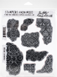 Stampers Anonymous, Tim Holtz leimasinsetti Fragments