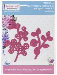 Dress My Craft stanssisetti Foliage & Leaves 2