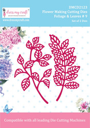 Dress My Craft stanssisetti Foliage & Leaves 9