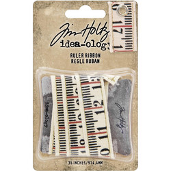 Tim Holtz Idea-Ology Ruler Ribbon -nauha