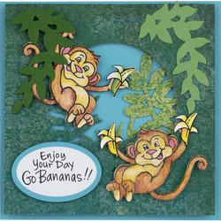 Stampendous leimasin- ja stanssisetti Monkey