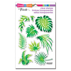 Stampendous leimasinsetti Jungle Greenery