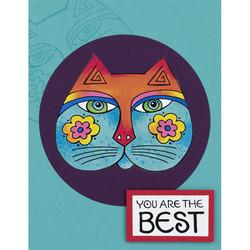 Stampendous Laurel Burch leimasinsetti Feline Best