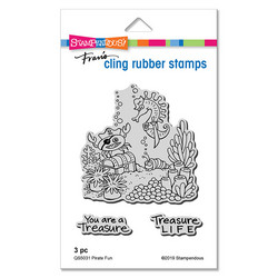 Stampendous leimasinsetti Pirate Fun