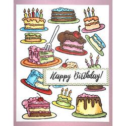 Stampendous leimasin Cake