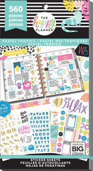 Mambi Happy Planner Value -tarrapakkaus Pastel Tropics