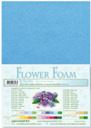 Leane Creatief Flower Foam -softislevy kukkien tekoon, summer blue