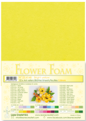 Leane Creatief Flower Foam -softislevy kukkien tekoon, bright yellow