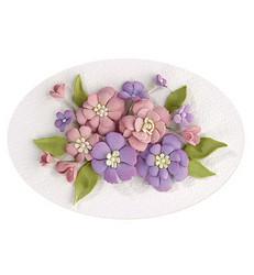 Leane Creatief Flower Foam -softislevy kukkien tekoon, setti 1 pastel