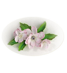 Leane Creatief Flower Foam -softislevy kukkien tekoon, setti 6 white - green