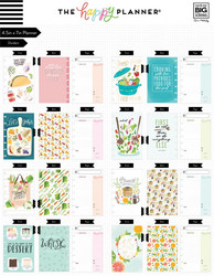 Mambi Happy Planner Foodie (Recipe Organizer) -reseptikirja, MINI