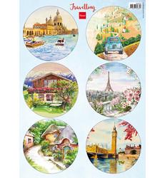 Marianne Design korttikuvat Travelling