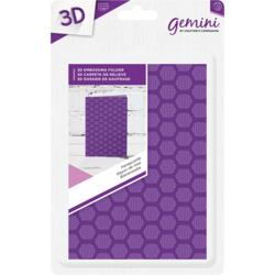 Gemini 3D kohokuviointikansio Honeycomb