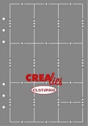Crealies Journalzz & Plannerzz sapluuna Weekly Page A
