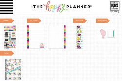Mambi Happy Planner Classic Accessories -pakkaus - Student - Kind Kids