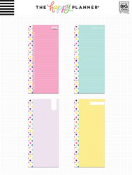 Mambi Happy Planner Classic Half Sheet paperipakkaus, Colorful Dots