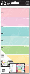 Mambi Happy Planner Classic Half Sheet paperipakkaus, Rainbow Days