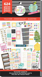 Mambi Happy Planner Value -tarrapakkaus Teacher - Functional