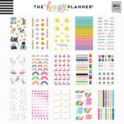 Mambi Happy Planner Value -tarrapakkaus Student - Icons