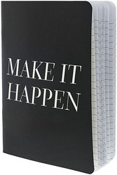 Teresa Collins Designer Notebook -muistivihko Make It Happen