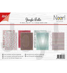 Joy! crafts NoorDesign paperipakkaus Jingle Bells