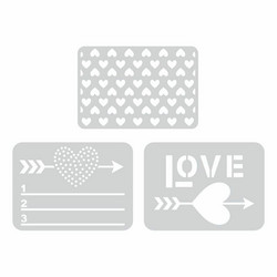 Sizzix Life Made Simple stanssisetti Love