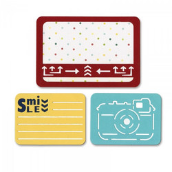 Sizzix Life Made Simple stanssisetti Smile For The Camera