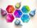 Brea Reese Waterproof Panels, hexagon, 6 vedenkestävää pohjaa, 3