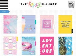 Mambi Happy Planner 12-Month Dated Classic Planner -kalenteri, Super Duper, Student