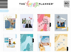 Mambi Happy Planner 12-Month Dated Classic Planner -kalenteri, Golden Student