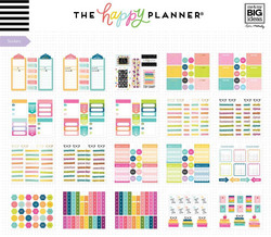 Mambi Happy Planner Multi Accessory -pakkaus, Student - Stay Sharp