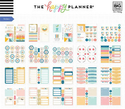 Mambi Happy Planner Multi Accessory -pakkaus, Teacher - Retro