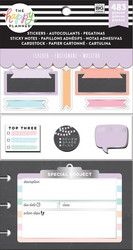Mambi Happy Planner Multi Accessory -pakkaus, Teacher - Chalkboard