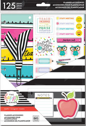 Mambi Happy Planner Classic Accessories -pakkaus - Teacher