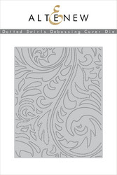 Altenew stanssi Dotted Swirls Debossing Cover