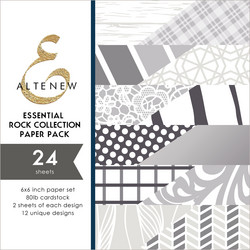 Altenew paperipakkaus Essential Rock Collection