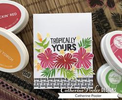 Catherine Pooler leimasinsetti Tropically Yours