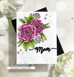 Catherine Pooler leimasinsetti One in a Million Mom Floral